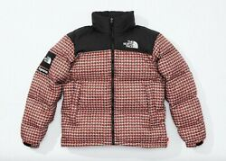 Supreme The Tnf Studded Nuptse Jacket Red Ss21 Large In Hand New Fast
