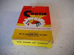 1949 The Game Of Cootie 200 Made By Schaper Mfg Co Usa