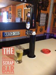 Retro Glass Michelob Ultra Draft Beer Kegerator Tap Handle - Awesome