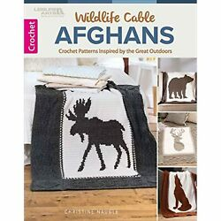 Wildlife Cable Afghans Crocheted Afghans Inspired By The Great Outdoors