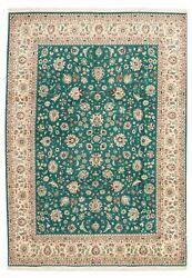 9and0391 X 12and0394 Vintage Hand-knotted Traditional Oriental Wool Area Rug