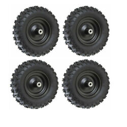 4pc 6 Wheels Tires 4.10-6 Go Kart Atv Tire And Rim Scooter Lawn Mower Cart Golf