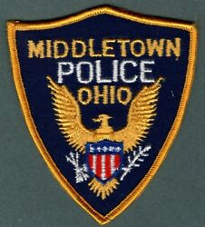 Middletown Ohio Police Patch