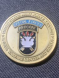 Us Army Special Forces Command Airborne Command Sergeant Major Usasfc Rare