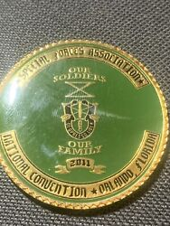 Special Forces Association National Convention 2011 Challenge Coin