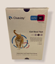 ClueJay Cat Stool Fecal Test I Collect amp; Mail from Home I Lab