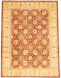 Vintage Hand-knotted Carpet 9and0390 X 12and0390 Traditional Oriental Wool Area Rug