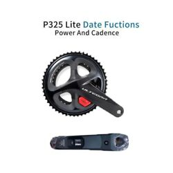 Chain Wheel Set Bicycle Accessories Rechargeable Power Meter Double Crank Cycle