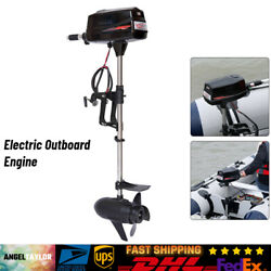 Electric Outboard Engine Boat Trolling Motor Brushless 60v 2200w Fast Shipping