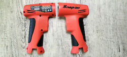 """Snap On Cts561 3/8"""" Orange Body Shell Cordless Impact Wrench Screwdriver 7.2v"""