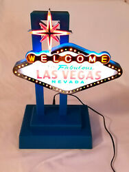 Welcome To Fabulous Las Vegas Nevada - Sign With Flashing Lights - Collectible