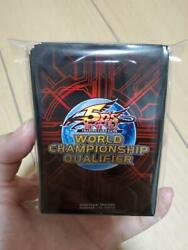Yu-gi-oh World Championship Qualifier 2011 Sleeve Red 80 Cards F/s From Japan