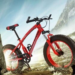 Men Mountain Bike Children Road Fat Bicycle Hard Frame Disc Brake Snow Mtb Bikes