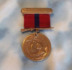 Andnbspwwi Us Marine Corps Good Conduct Medal/ribbon Very Nice Condition Usmc