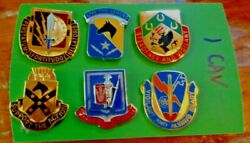 Army Crestdi Special Troops Bns And Sustainment Bd Set 1st Cavalry Div 6 Dif