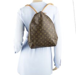 Louis Vuitton Monogram Shopping In The Rain Backpack Bag Excellent Condition