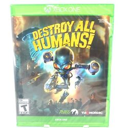 Destroy All Humans Xbox One [brand New]