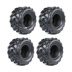 4 Of 18x9.50-8 4 Ply Tires Lawn Mower Tire 18x9.5-8 Front Rear Atv Go Kart Golf