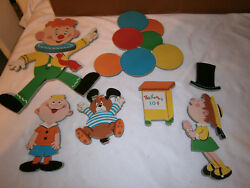 Vintage 1973 The Dolly Toy Co. Nursery Wall Pin Ups