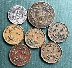 Old Coins From Newfoundland