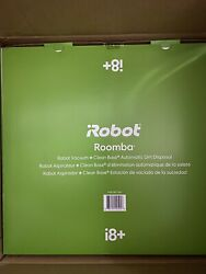 Irobot I8+ Roomba Wi-fi Connected Robot Vacuum With Clean Base Dirt Disposal