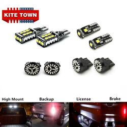 8x Led Reverse License Plate Cargo Brake Stop Lamp For Ford F-150 2015 2016 2017