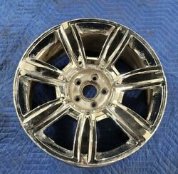 Factory Chrome Bentley Wheel Flying Spur 20 Inch Oem Continental 3w0601025aa