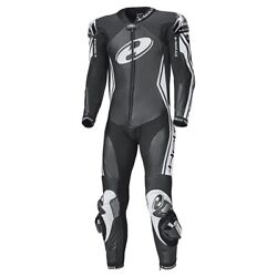 Held Full Speed Motorcycle Motorbike One Piece Leather Suit Black / White