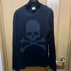 Mastermind Japan Skull Long Sleeve T-shirt Tops Black Cotton Menand039s M From Japan