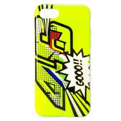 Vr46 Apple Iphone 7/8 Pop Art Mobile Phone Fashionable Cover Fluo Yellow