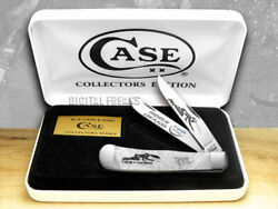 Case Xx Friends Of Coal Friends In Low Places White Pearl 1/500 Trapper Knife 1