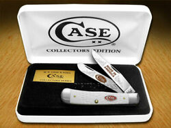 Case Xx Jigged White Delrin Made In America 1/600 Trapper Limited1 Pocket Knife