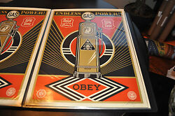 Endless Power - Shepard Fairey - Obey Giant - S/n - 2013 - Rare - Street Art
