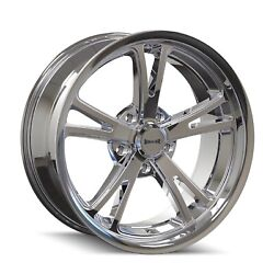 Cpp Ridler 606 Wheels 17x7 + 18x9.5 Fits Dodge Charger Coronet Dart