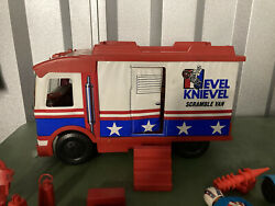 Evel Knievel Scramble Van With Accessories 1973. Just Found The Cane