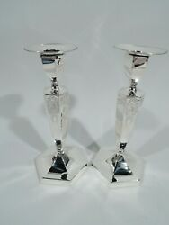 Bailey Banks And Biddle Chandeliers - 440 - Ancien - Amandeacutericain Argent Sterling