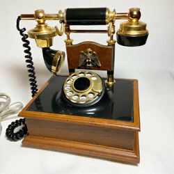 Vintage Northwestern Bell Early American Decorative Rotary Dial Desk Phone