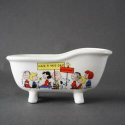 Snoopy Bathtub Soap Dish Peanuts Vintage Determined Productions F/s From Japan