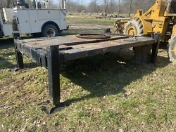 Hydraulic Outriggers 4 Post Jacks For Boom Bucket Truck