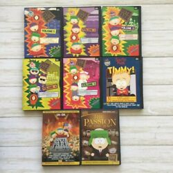 South Park Dvd Lot Of 8 Seasons 1-5 Complete Seasons Comedy Central
