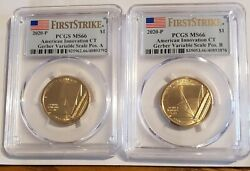 2020 P American Innovation Gerber Variable Scale Fs Pos A And B Pcgs Ms66