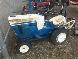 Sears Suburban 12hp 6-speed With Sicklebar Mower And 3-point Hitch Plow, Nice