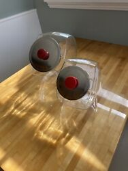 """2 Vintage General Storepenny Candy Jars1 Large 10"""" X 6"""" - 1 Small 8"""" X 5"""""""