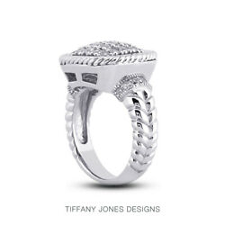 1 Ct F Vs2 Round Brilliant Natural Certified Diamonds 14k Gold Womenand039s Ring