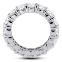 2 Ct F Vs2 Round Cut Natural Certified Diamonds 18k Gold Classic Eternity Band