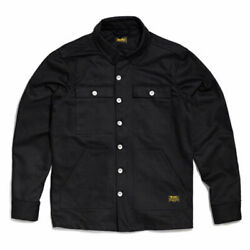 Bike Shed Resistant Fashionable Casual Wear Overshirt Black