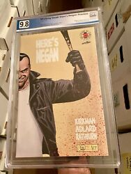 Here's Negan Preview 1 Image Blind Box Pgx Not Cgc 9.8 Nm/mt Walking Dead Wow