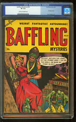 Baffling Mysteries 20 Cgc 8.0 Ace Periodicals 4/54 Classic Cover Pre Code Horror
