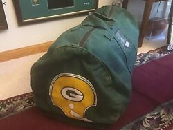Vince Lombardi Era 1960s-70s Vintage Team Used Equipment Green Bay Packers Club.