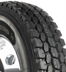 4-tires 11r22.5 Tires Dawg Dpt322 Drive Tire 16pr Radial 11225